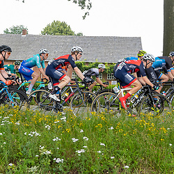 VELDHOVEN (NED) July 4 <br /> CYCLING <br /> The first race of the Schwalbe Topcompetition the Simac Omloop der Kempen<br /> Jesper Hest (123) Nelson Peetoom (124
