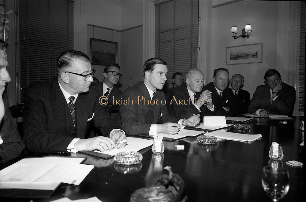 12/11/1964<br /> 11/12/1964<br /> 12 November 1964<br /> <br /> Management of Palgrave shipping discussing the changes to be made regarding the investment from Irish Shipping Ltd.