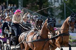 Harm Mareike, GER, Amicello, Luxus Boy, Racciano, Sunfire, Zazou<br /> FEI European Driving Championships - Goteborg 2017 <br /> © Hippo Foto - Dirk Caremans