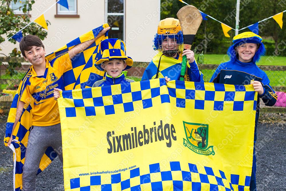 Sam Shepherd, Ben O'Connell, Eamon Breen and Oisin O'Grady from Kilmurry NS, Sixmilebridge