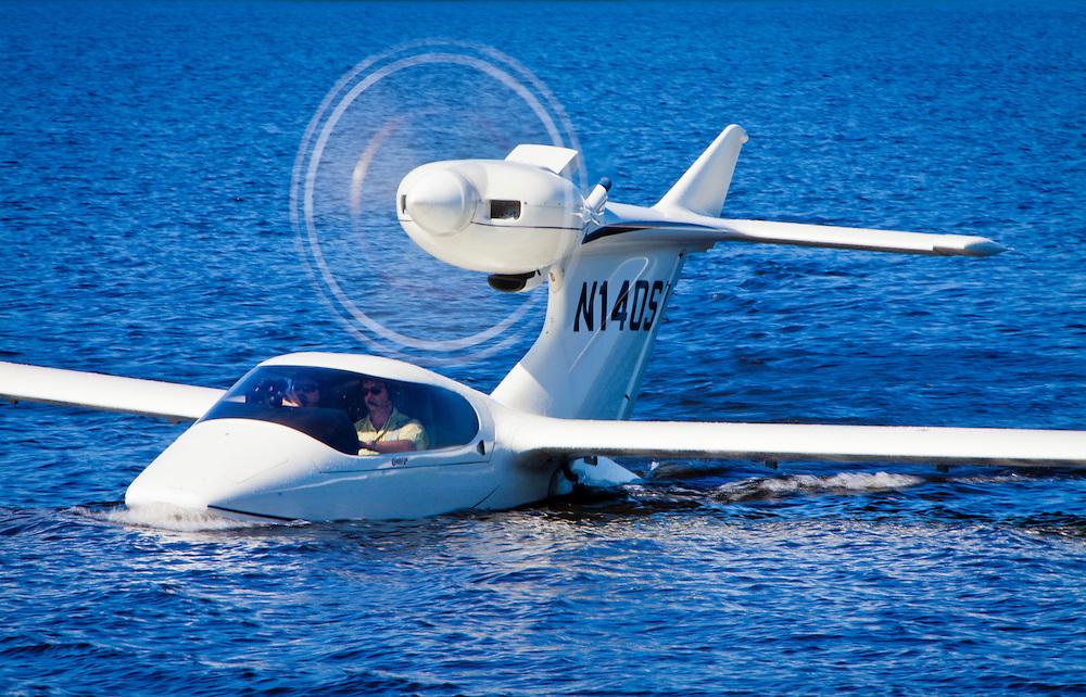 Seawind 3000 at Fantasy of Flight's Lake Agnes during Sun 'n Fun 2011 in Polk City, Florida.