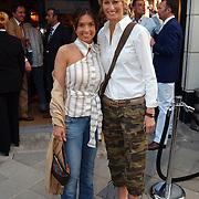 Opening Ralph Lauren winkel, Rosanna Lima en Anouk Voorveld