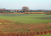 Nederland, Nijmegen, 16-11-2018 Het peil in de Oude Waal, een dode rivierarm van de rivier, heeft nog nooit zo laag gestaan. Het water is goeddeels verdwenen. Normaal staat hier een tot twee meter water . Het duurde even omdat hij met het hoge water in januari helemaal vol stroomde. Hoogwater, laagwater . laagwater . De Waal is het Nederlandse deel van de Rijn en de belangrijkste vaarroute van en naar Rotterdam en Duitsland . Aftakkingen zijn de minder bevaren Neder Rijn en IJssel. Foto: Flip Franssen
