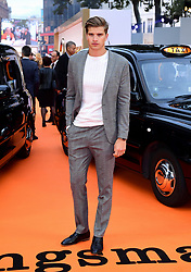Toby Huntington-Whiteley attending the World Premiere of Kingsman: The Golden Circle, at Cineworld in Leicester Square, London. Picture Date: Monday 18 September. Photo credit should read: Ian West/PA Wire