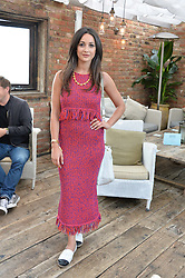 ROXIE NAFOUSI at the Warner Music Group Summer Party in association with British GQ held at Shoreditch House, Ebor Street, London E2 on 8th July 2015.