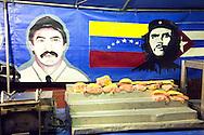 Food kiosk in Gibara, Holguin, Cuba.