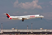 F-GRGH HOP! Embraer ERJ-145EP at Malpensa (MXP / LIMC), Milan, Italy