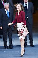 100616 Queen Letizia Of Spain Visits 'Friends Of Prado Museum Foundation'