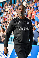 Southend United manager Chris Powell during the EFL Sky Bet League 1 match between Gillingham and Southend United at the MEMS Priestfield Stadium, Gillingham, England on 13 October 2018.
