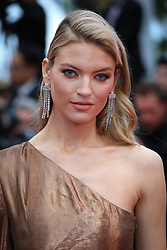 """Martha Hunt attends the screening of """"Les Plus Belles Annees D'Une Vie"""" during the 72nd annual Cannes Film Festival on May 18, 2019 in Cannes, France. Photo by Shootpix/ABACAPRESS.COM"""