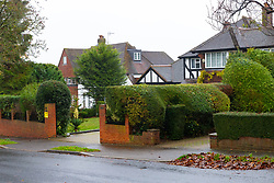 Residents of Higher Drive in Sutton, Surrey, have had to set up a whatsApp group to coordinate efforts in tackling burglaries in their area after several homes have been burgled.. London, November 28 2018.