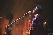 Michael Kiwanuka with support from Clean Cut Kid performing at the RAH
