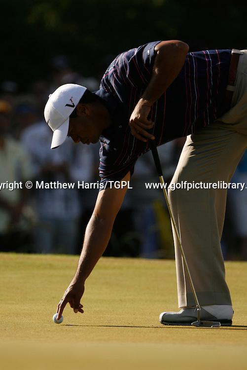 Tiger WOODS (US) during first round AUSTRALIAN MASTERS 2009,Kingston Heath, Melbourne,Victoria, Australia.