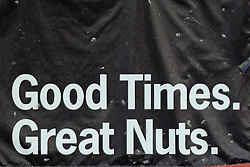 17 August 2013:  The text half of a Beer Nuts ad