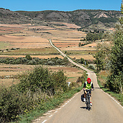 Cycling in Rioja,