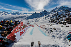 09.02.2017, St. Moritz, SUI, FIS Weltmeisterschaften Ski Alpin, St. Moritz 2017, Abfahrt, Herren, Training, im Bild Übersicht vom Herren Start am Free Fall // General view of the mens downhill start during the practice run of men's Downhill of the FIS Ski World Championships 2017. St. Moritz, Switzerland on 2017/02/09. EXPA Pictures © 2017, PhotoCredit: EXPA/ Alessandro Della Bella/ POOL