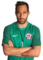 Football Conmebol_Concacaf - <br />Copa America Centenario Usa 2016 - <br />Cile National Team - Group D - <br />Claudio Bravo