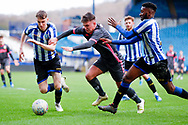 Leeds United midfielder Jamie Shackleton (14)  during the U23 Professional Development League match between U23 Sheffield Wednesday and U23 Leeds United at Hillsborough, Sheffield, England on 3 February 2020.
