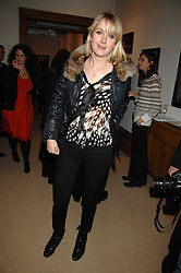 TICKY HEDLEY-DENT at a private view of Paul Simonon's recent paintings held at Thomas Williams Fine Art, 22 Old Bond Street, London on 15th April 2008.<br /><br />NON EXCLUSIVE - WORLD RIGHTS
