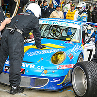 #71 Porsche 911 GT3 RSR 3.8l type 997, Seikel Motorsport/Felbermayr Proton Team, at Le Mans 24H 2007
