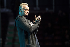 """Sting And """"The Last Ship"""" Casting Support General Motors Workers - 14 Feb 2019"""