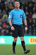 Referee Oliver Langford during the The FA Cup 3rd round match between Derby County and Southampton at the Pride Park, Derby, England on 5 January 2019.