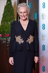 Glenn Close attending the after party for the 72nd British Academy Film Awards, at the Grosvenor House Hotel in central London. Picture date: Sunday February 10th, 2019. Photo credit should read: Matt Crossick/ EMPICS Entertainment.