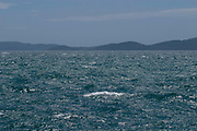 The Adriatic sea on a breezy day near Zadar. Croatia. Part of a story on Croatia's hidden landscape and undiscovered tourism