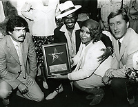 1979 Aretha Franklin's Walk of Fame ceremony