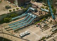2018 JUNE 19 - Construction near the bus depot off Pine St near Paramount, Seattle, WA, USA. By Richard Walker
