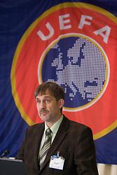 Dane Jost at Management conference of Slovenian Football Federation, on March 10, 2009, in Hotel Kokra, Brdo pri Kranju, Slovenia. (Photo by Vid Ponikvar / Sportida)