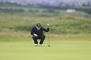 Liam Grehan (Mullingar) during the semi final of the  North of Ireland Amateur Championship, Portstewart Golf Club, Portstewart, Antrim,  Ireland. 12/07/2019<br /> Picture: Golffile | Fran Caffrey<br /> <br /> <br /> All photo usage must carry mandatory copyright credit (© Golffile | Fran Caffrey)