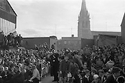 13/10/1963<br /> 10/13/1963<br /> Ireland v Austria, European Championship match at Dalymount Park, Dublin. Ireland won the game 3-2. The crowds entering the grounds after the first Irish goal.
