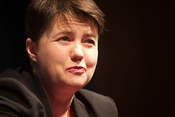 "Scottish Conservative party leader Ruth Davidson spoke about her early years and her move into politics at the Inspiring Women in Business conference, EICC, Edinburgh. Asked about one day becoming Prime Minister, she responded ""No thank you"". pic copyright Terry Murden @edinburghelitemedia"
