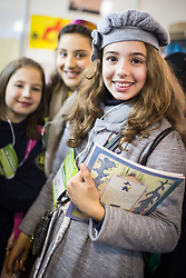 Meninas durante a Jornadinha e Jornada de Literatura de Passo Fundo. FOTO: Jefferson Bernardes/Preview.com