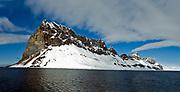 Bird-cliff at Vestre Burgerbukta, Hornsund, south-western Spitsbergen, Svalbard.