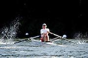 Henley Royal Regatta, Henley on Thames, ENGLAND,  1996,  Women's Single Sculls.Maria Bradin, Kungalvs Rk, SWEDEN,  SWE, W1X, Maria Brandin, Photo: Peter Spurrier/Intersport Images.  Mob +44 7973 819 551/email images@intersport-images.com