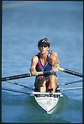 Sydney. AUSTRALIA. 2000 Summer Olympic Regatta, Penrith. NSW.  <br /> <br /> USAW2-.  Bow, SCHWEN-RYAN, Missy<br /> and  KRAFT, Karen<br /> <br /> [Mandatory Credit Peter SPURRIER/ Intersport Images] Sydney International Regatta Centre (SIRC) 2000 Olympic Rowing Regatta00085138.tif
