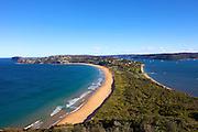 Views of Palm Beach from Barranjoey Lighthouse, Sydney, Australia..Paul Lovelace Photography