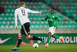 Eric Boakye of NK Olimpija during the football match between NK Olimpija Ljubljana and NS Mura in 25. Round of Prva liga Telekom Slovenije 2019/20, on March 8, 2020 in Stadion Stozice, Ljubljana, Slovenia. Photo by Grega Valancic / Sportida