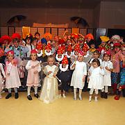 Generale repetitie circusvoorstelling Flevoschool