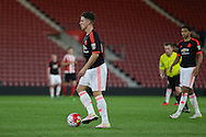 Manchester United U21 Josh Harrop during the Barclays U21 Premier League match between U21 Southampton and U21 Manchester United at the St Mary's Stadium, Southampton, England on 25 April 2016. Photo by Phil Duncan.