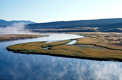 Wyoming: Yellowstone National Park.  Scenic view in Hayden Valley.  Photo #: wyyell103..Photo copyright Lee Foster, www.fostertravel.com, 510/549-2202, lee@fostertravel.com, .
