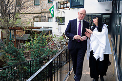Pictured: Mr Swinney chats with manager Lynn McNair<br /> Deputy First Minister John Swinney visited Cowgate Nursery in Edinburgh to meet children, staff and modern apprentices working in early years and childcare. Mr Swinney confirmed that a record number of early years apprenticeships are expected to start this year as part of the expansion of free nursery and childcare.  Mr Swinney toured the nursery and discussed the City of Edinburgh Council's plans to expand the early years and childcare workforce and met with modern apprentices as well as Jake Stefanovic, an ambassador from the Scottish Government's childcare recruitment campaign.<br /> <br /> <br /> Ger Harley | EEm 13 February 2018