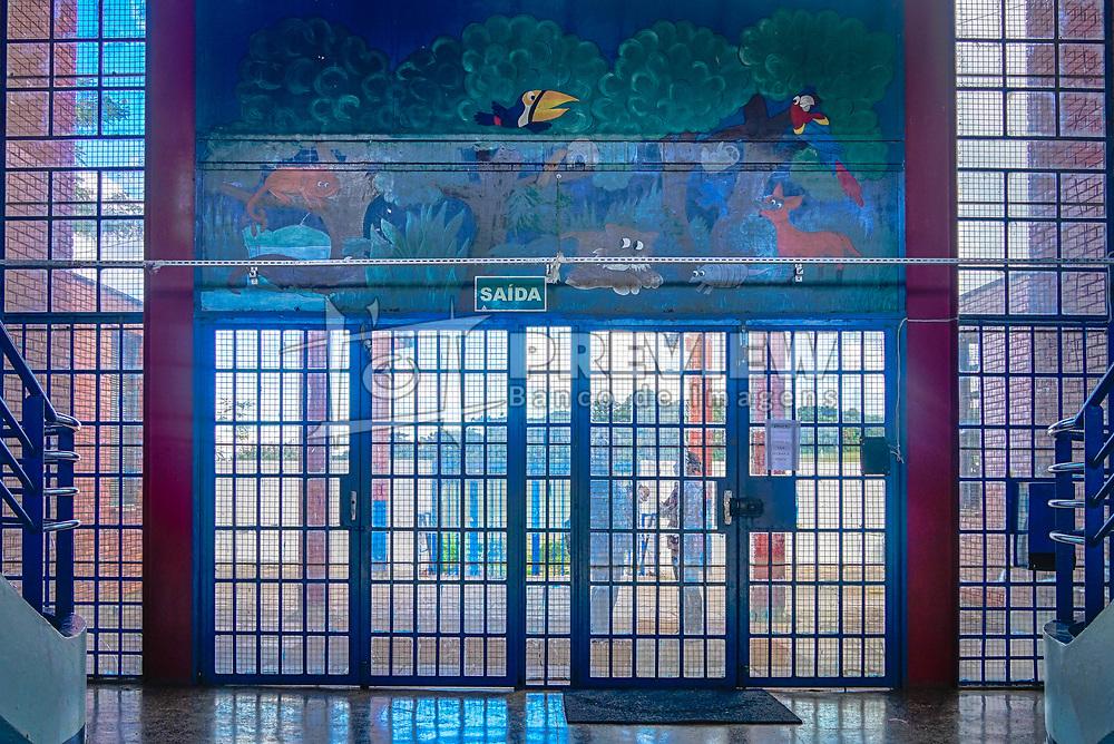 7ª CRE – ESCOLA ESTADUAL ENSINO FUNDAMENTAL WOLMAR ANTONIO SALTON, em Passo Fundo. Reforma do muro e telhado, substituição portas e de vidros que estavam quebrados, R$ 920 mil. FOTO: Jefferson Bernardes/ Agência Preview
