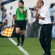 MKE Ankaragucu's coach Ziyaeddin DOGAN during their Turkish superleague soccer match Besiktas between MKE Ankaragucu at BJK Inonu Stadium in Istanbul Turkey on Monday, 19 September 2011. Photo by TURKPIX
