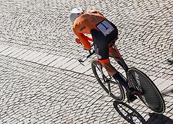26.09.2018, Innsbruck, AUT, UCI Straßenrad WM 2018, Einzelzeitfahren, Elite, Herren, von Rattenberg nach Innsbruck (54,2 km), im Bild Tom Dumoulin (NED) // Tom Dumoulin of Netherlands during the men's individual time trial from Rattenberg to Innsbruck (54,2 km) of the UCI Road World Championships 2018. Innsbruck, Austria on 2018/09/26. EXPA Pictures © 2018, PhotoCredit: EXPA/ Reinhard Eisenbauer