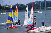 AT5BWA Launch sailing dinghy boats River Deben Woodbridge Suffolk