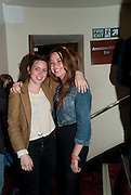 MADDY BYE; MARINA BYE, ( BLUE) Press night for Ruby Wax- Losing it. Duchess theatre. London. 1 September 2011. <br /> <br />  , -DO NOT ARCHIVE-© Copyright Photograph by Dafydd Jones. 248 Clapham Rd. London SW9 0PZ. Tel 0207 820 0771. www.dafjones.com.