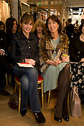 FRONT ROW INC: SHEHERAZADE GOLDSMITH;  SAMANTHA CAMERON;. The Launch of the Lanvin store on Mount St. Presentation and cocktails.  London. 26 March 2009
